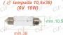 LAMPADINA A SILURO (10.5*38)